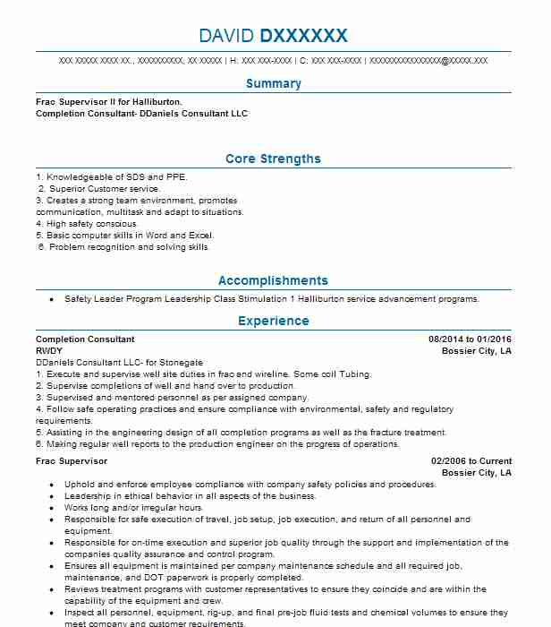 snr completion engineer resume example bp best for fresh graduate software intern theatre Resume Completion Engineer Resume