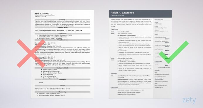 sous chef resume sample guide examples example auto parts urban planner system Resume Sous Chef Resume Sample