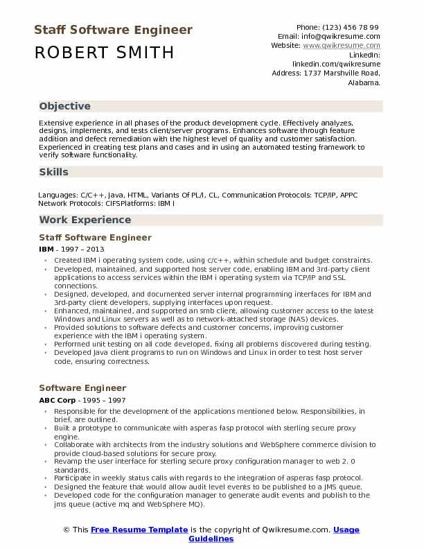 staff software engineer resume samples qwikresume format for computer pdf esthetician spa Resume Resume Format For Computer Engineer
