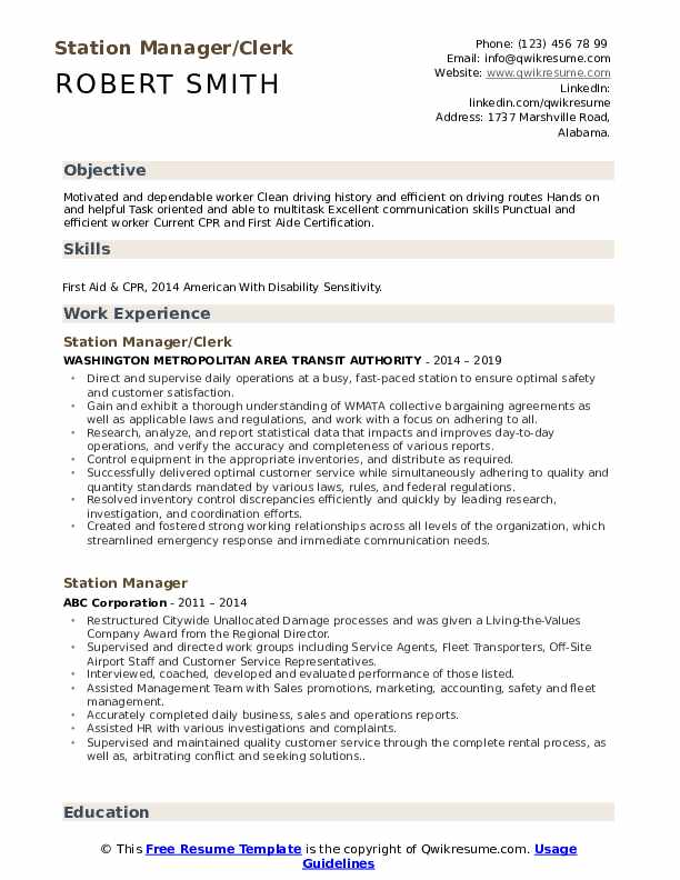 station manager resume samples qwikresume service pdf should you put your gpa on theatre Resume Service Station Manager Resume