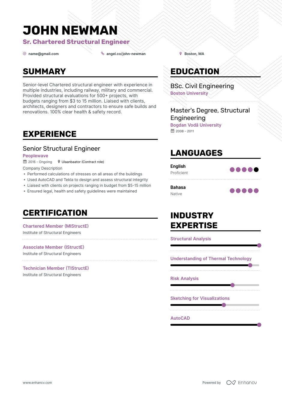 structural engineer resume ultimate guide for examples engineering sample executive Resume Structural Engineering Resume Sample