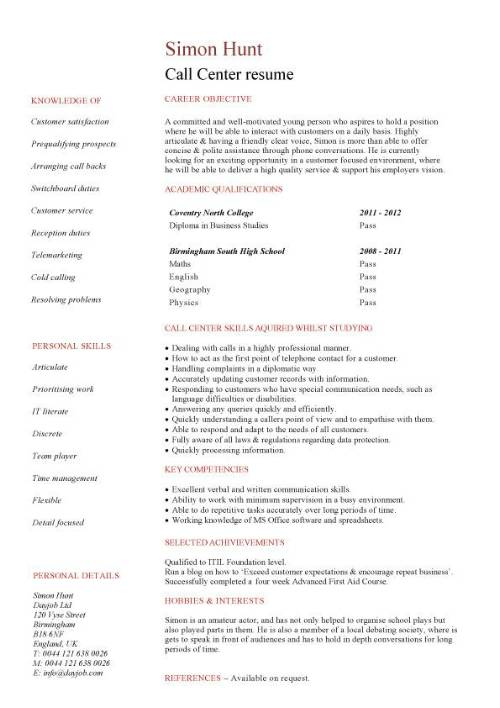 student entry level call resume template for center agent pic mep coordinator chief Resume Resume Template For Call Center Agent