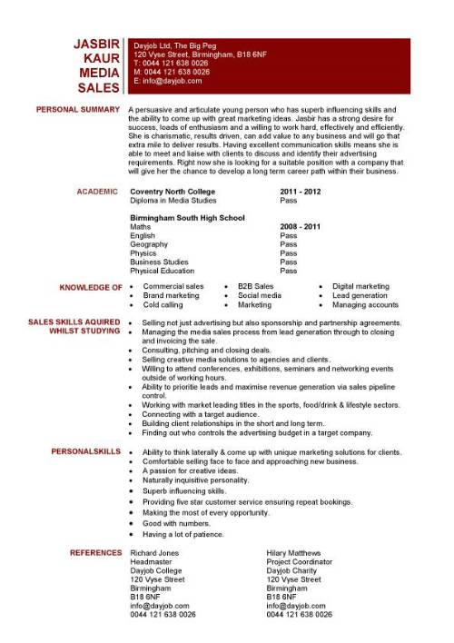 student entry level media resume template for job pic podcast awards examples format Resume Resume For Media Job