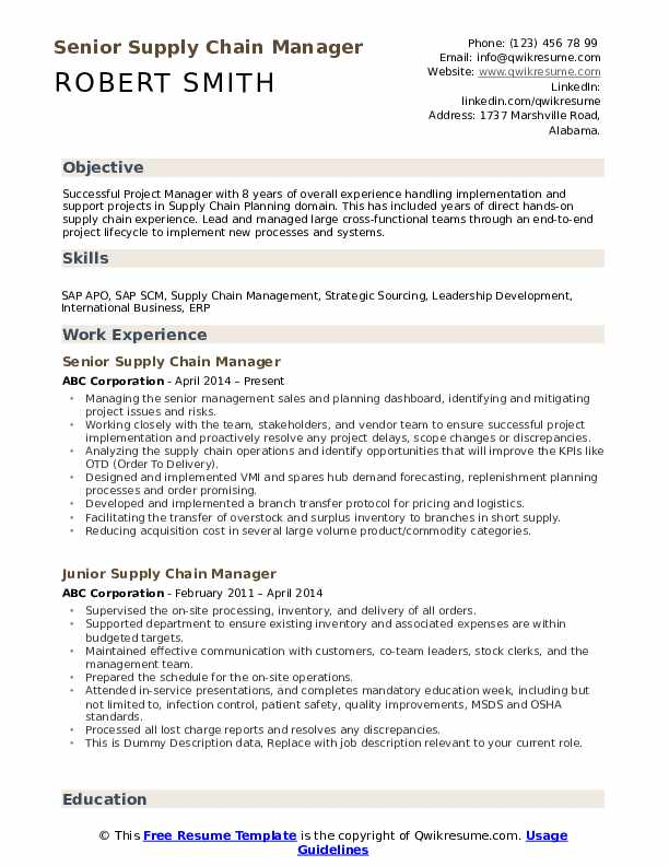 supply chain manager resume samples qwikresume pdf bookkeeper job description for free Resume Supply Chain Manager Resume