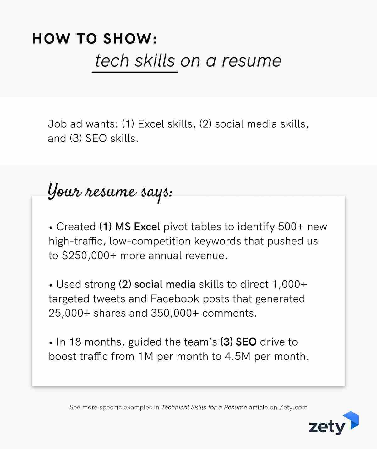 technical skills for resume with examples strengths to show tech on visually appealing Resume Strengths For Resume Examples