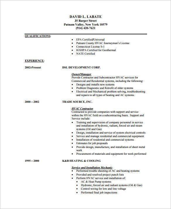 technician resume examples templates sample hvac pdf sccm samples construction Resume Hvac Technician Resume Pdf