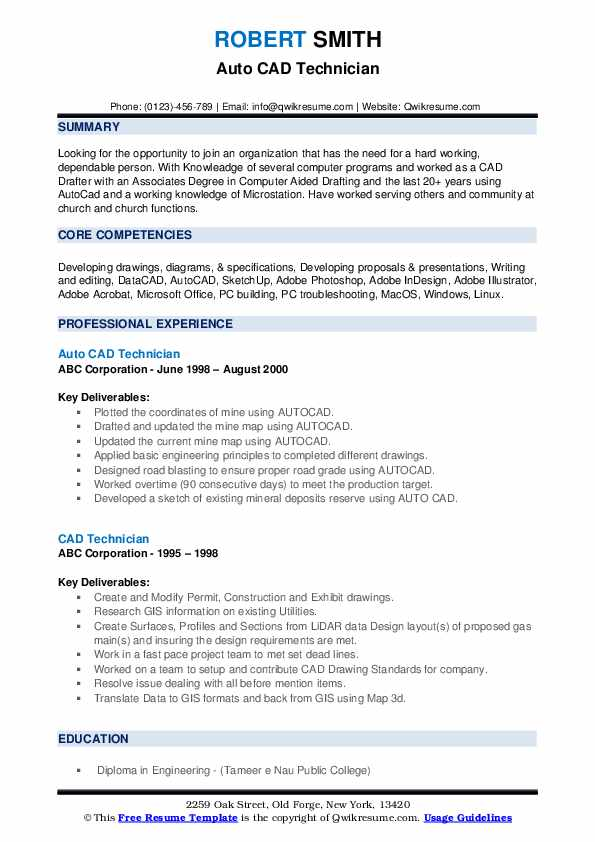 technician resume samples qwikresume autocad pdf great examples hrm objective career for Resume Autocad Technician Resume