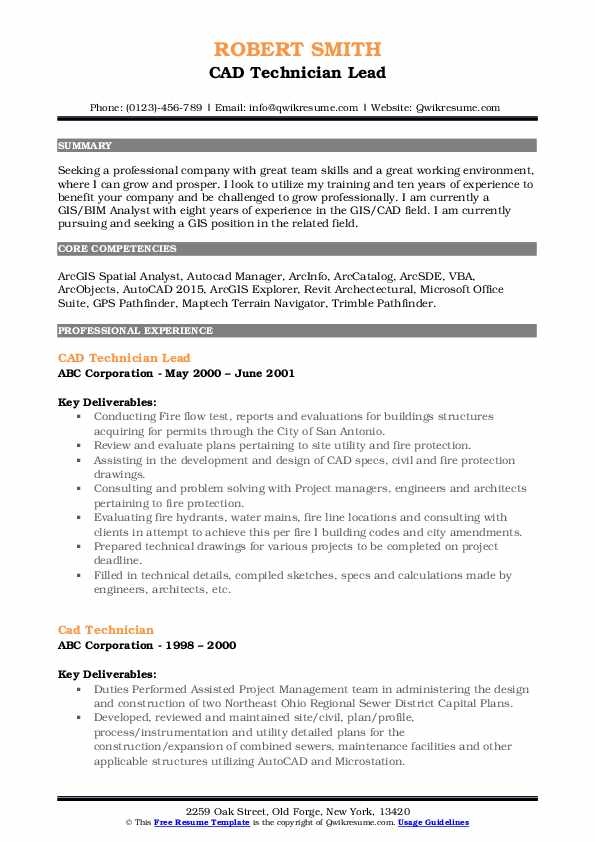 technician resume samples qwikresume autocad pdf hrm objective examples career for senior Resume Autocad Technician Resume