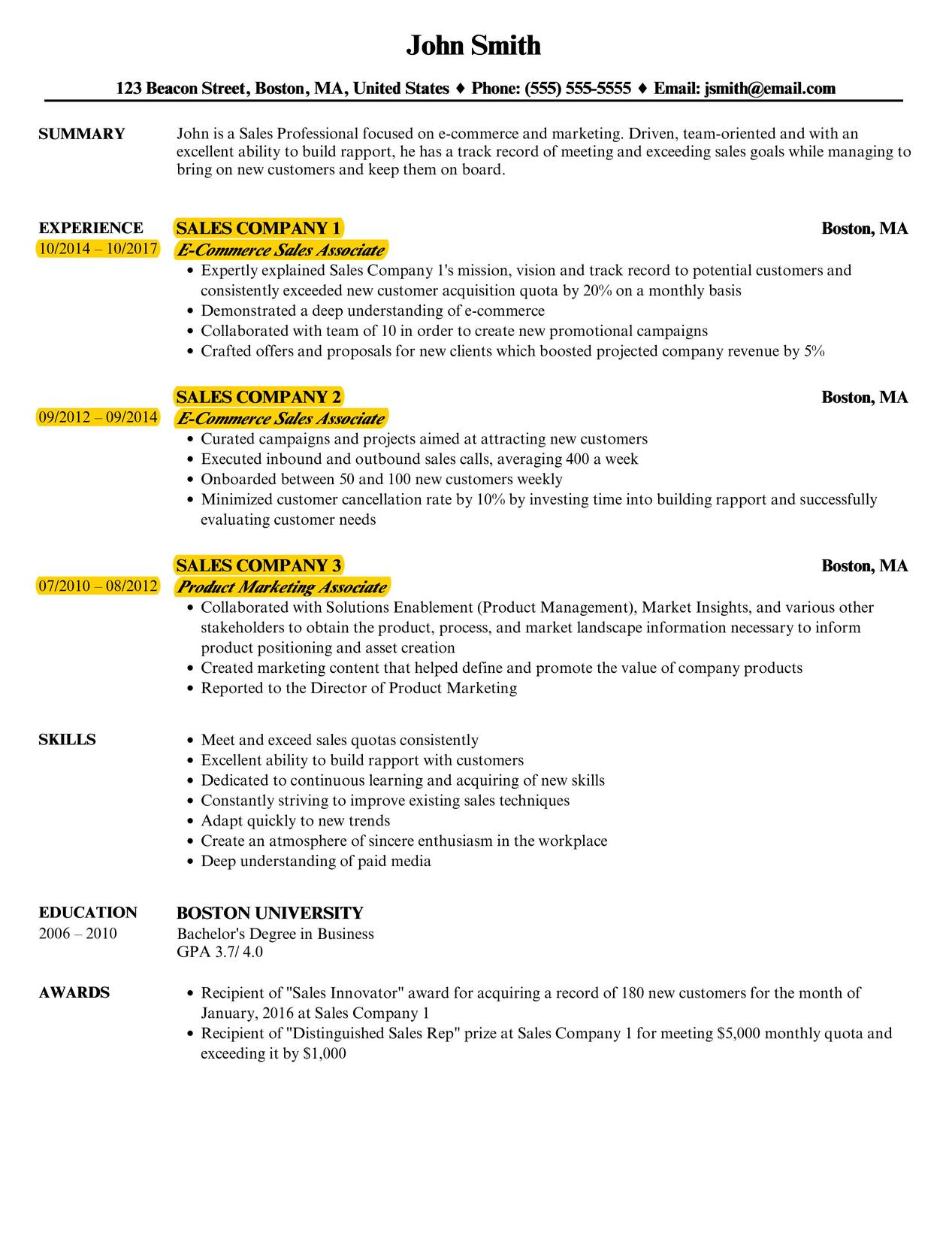 the best resume format reverse chronological velvet jobs professional template oct Resume Professional Chronological Resume Template
