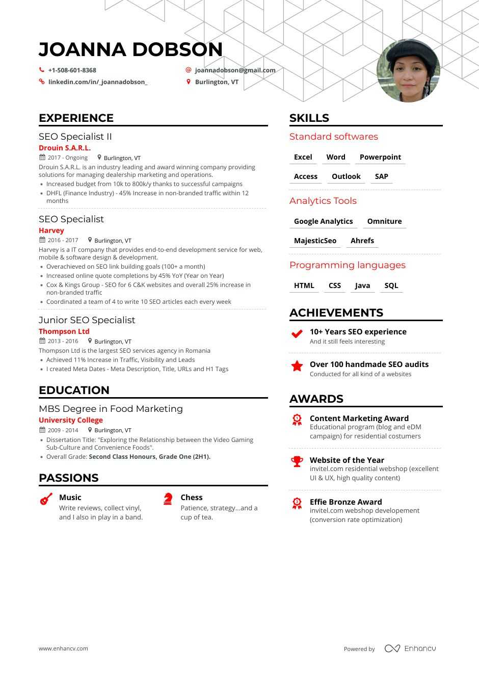 the best seo resume examples skills to get you hired search optimization data warehouse Resume Resume Search Optimization