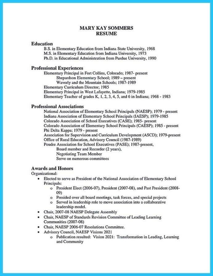 the best teaching cv examples and templates assistant principal resume sample good Resume Assistant Principal Resume Sample