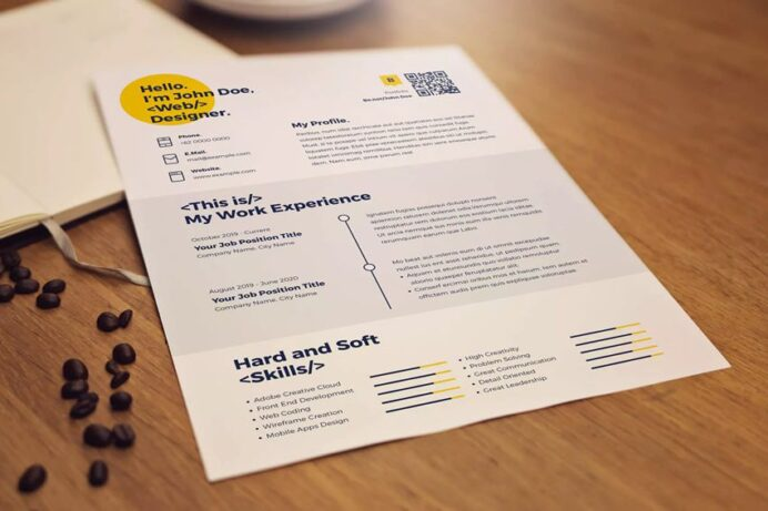the most creative resume designs ever design inspiration objective for retail position Resume Resume Design Inspiration 2020