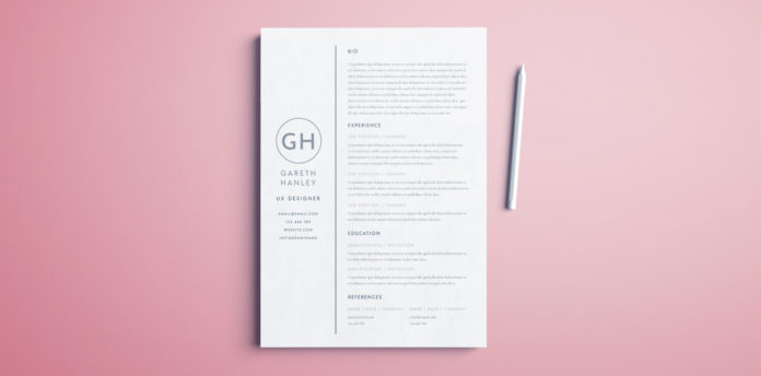 the perfect basic resume template free indesign cover 696x344 phlebotomy supervisor Resume Indesign Resume Template