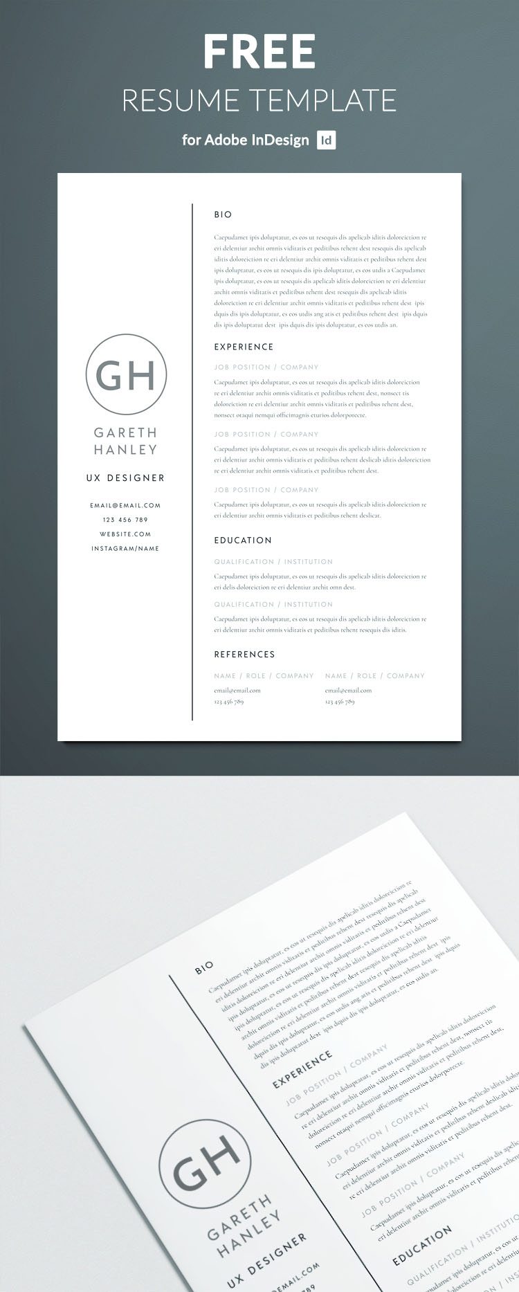 the perfect basic resume template free templates for adobe indesign full usajobs builder Resume Resume Templates For Adobe Indesign