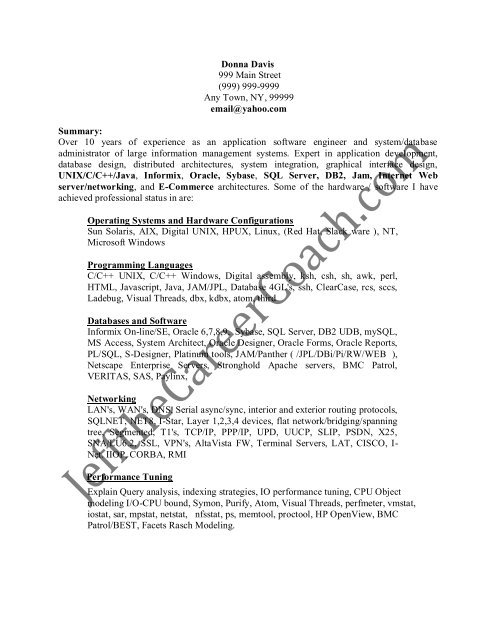 the resume sample one in pdf oracle database administrator entry level instructional Resume Oracle Database Administrator Resume