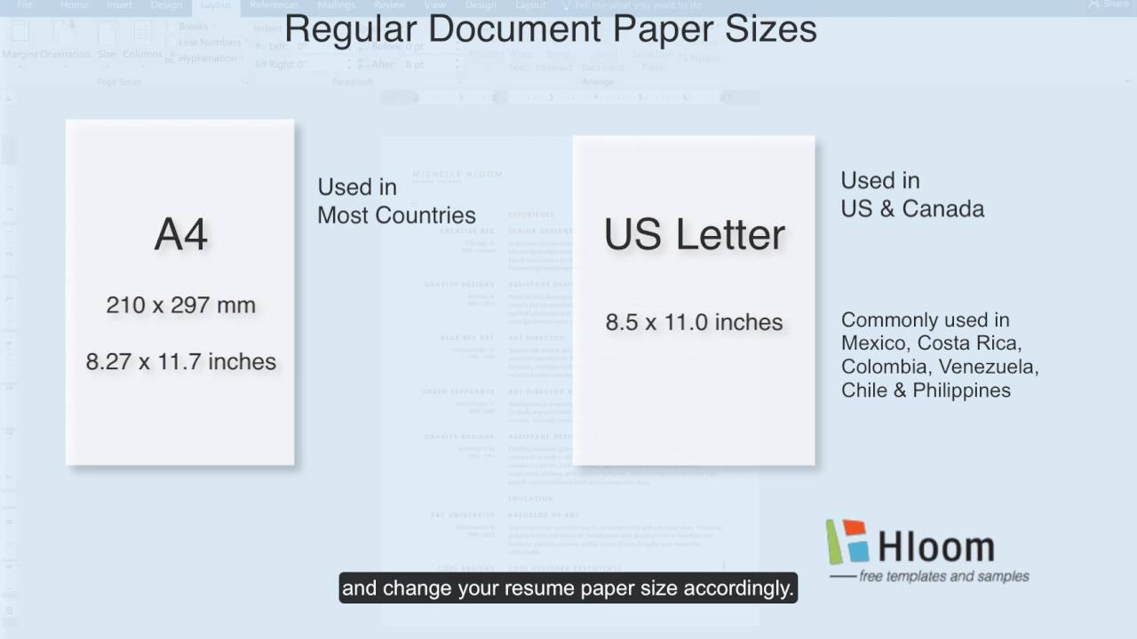 to change paper size in microsoft word resume template standard of sox auditor medical Resume Standard Size Of Resume Paper