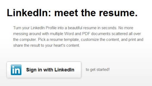 to convert your linkedin profile into fine looking resume builder tool insurance Resume Linkedin Resume Builder Tool