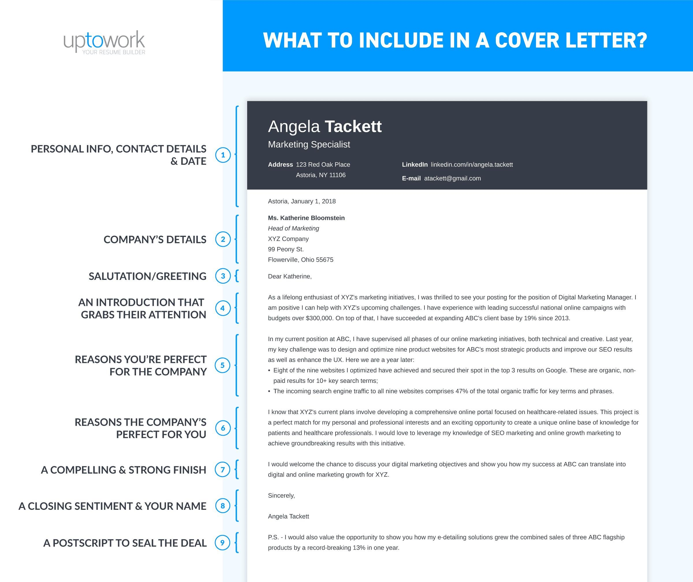 to include in cover letter goes create for your resume director format university Resume Create A Cover Letter For Your Resume Online