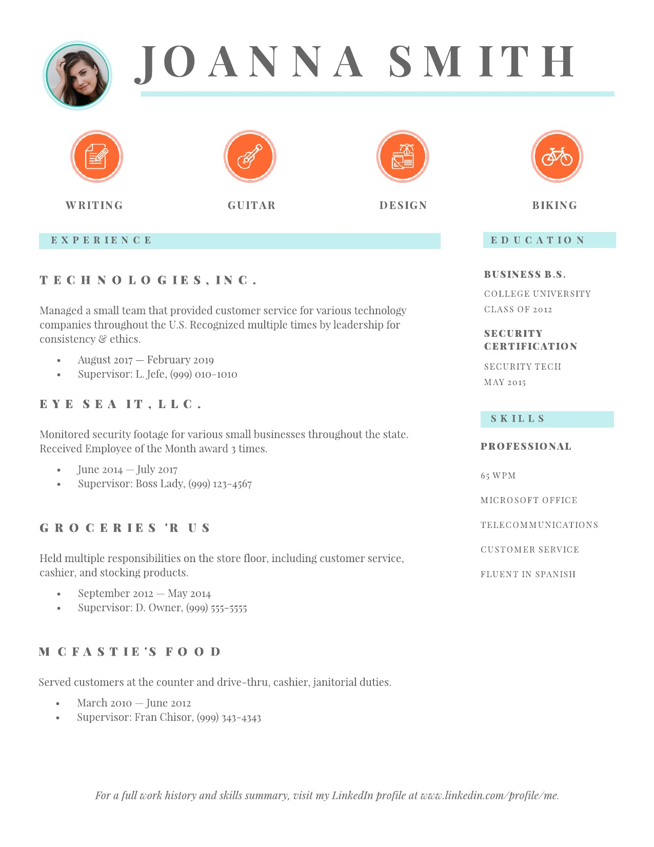 to make resume employers notice lucidpress good example format for software engineer Resume Where To Make A Good Resume