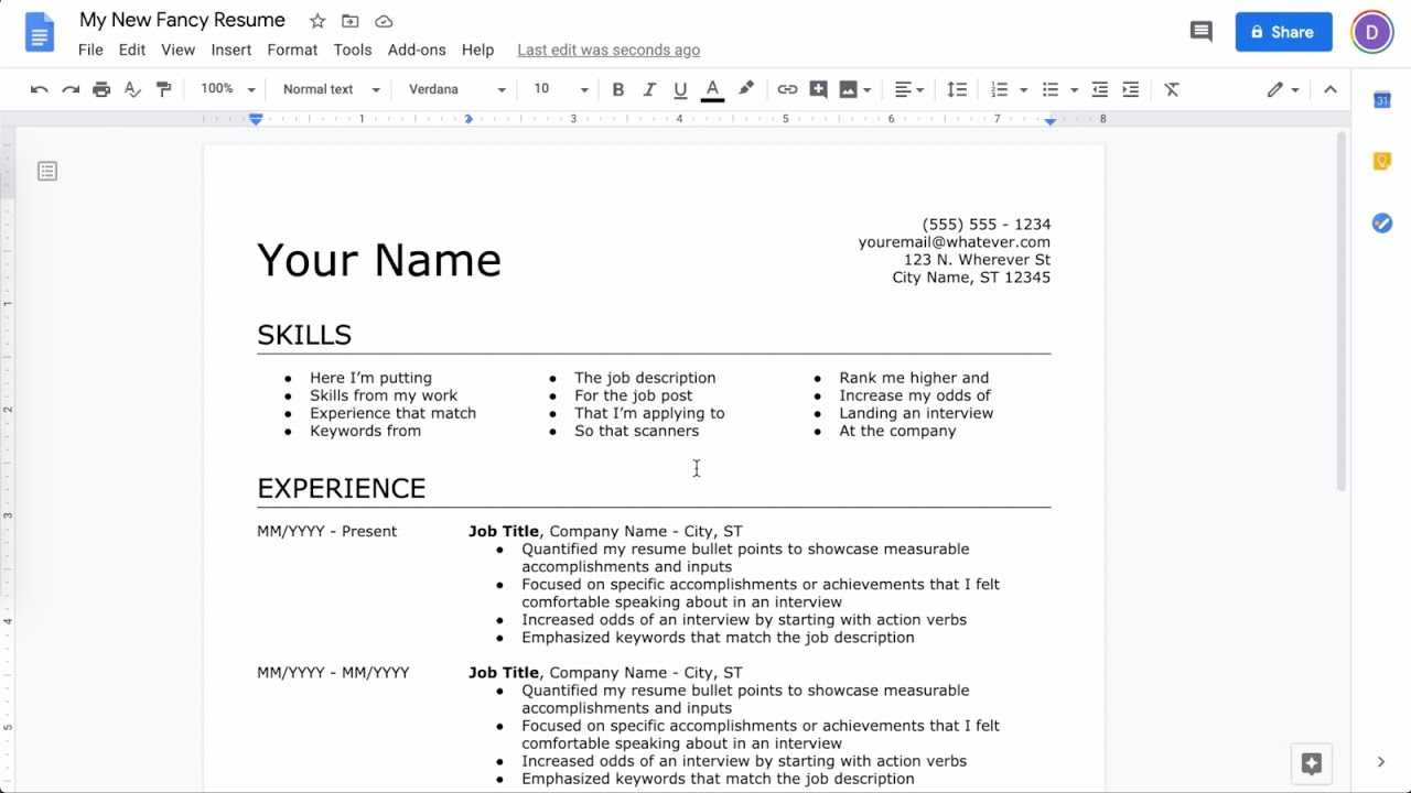 to make resume in google docs latest can you create on navy radioman copy editor job Resume Can You Create A Resume On Google Docs