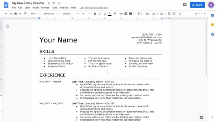 to make resume in google docs latest on restaurant manager sample electronics skills Resume Make Resume On Google Docs