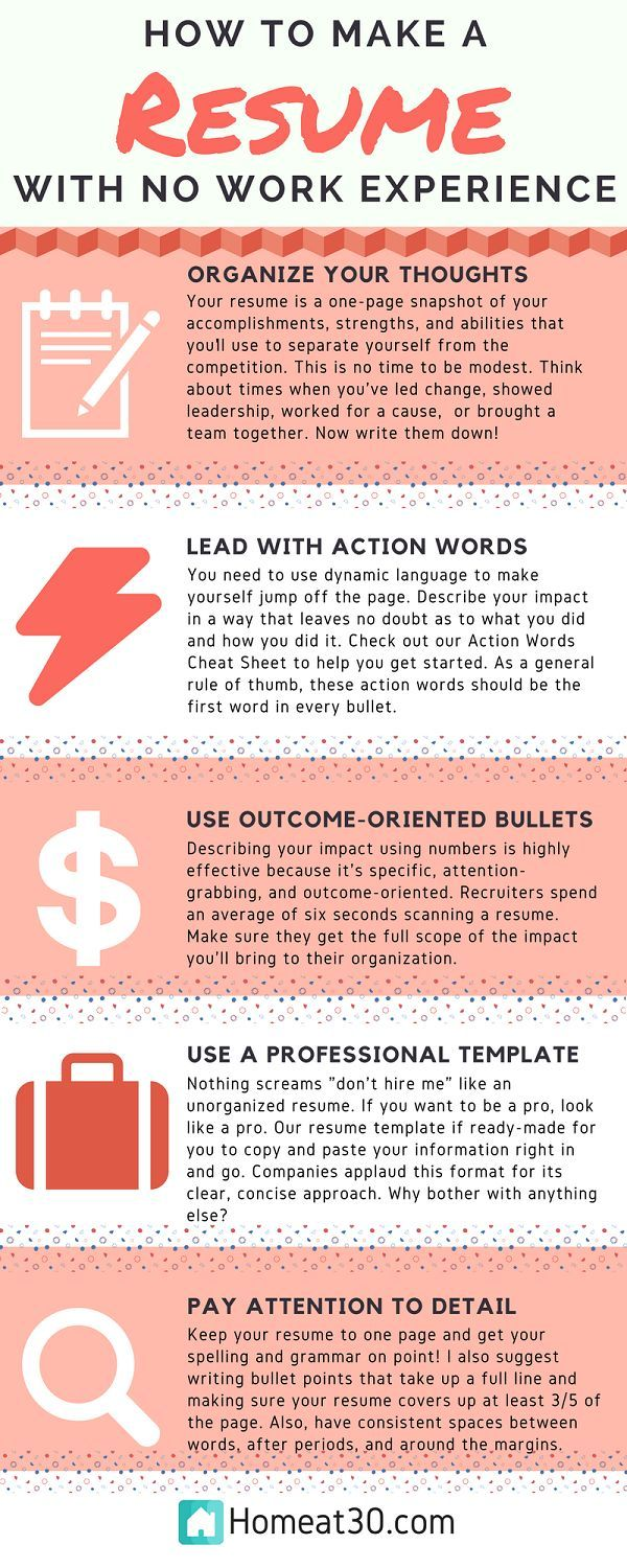 to make resume with no job experience writing services tips making without any hha skills Resume Making A Resume Without Any Job Experience