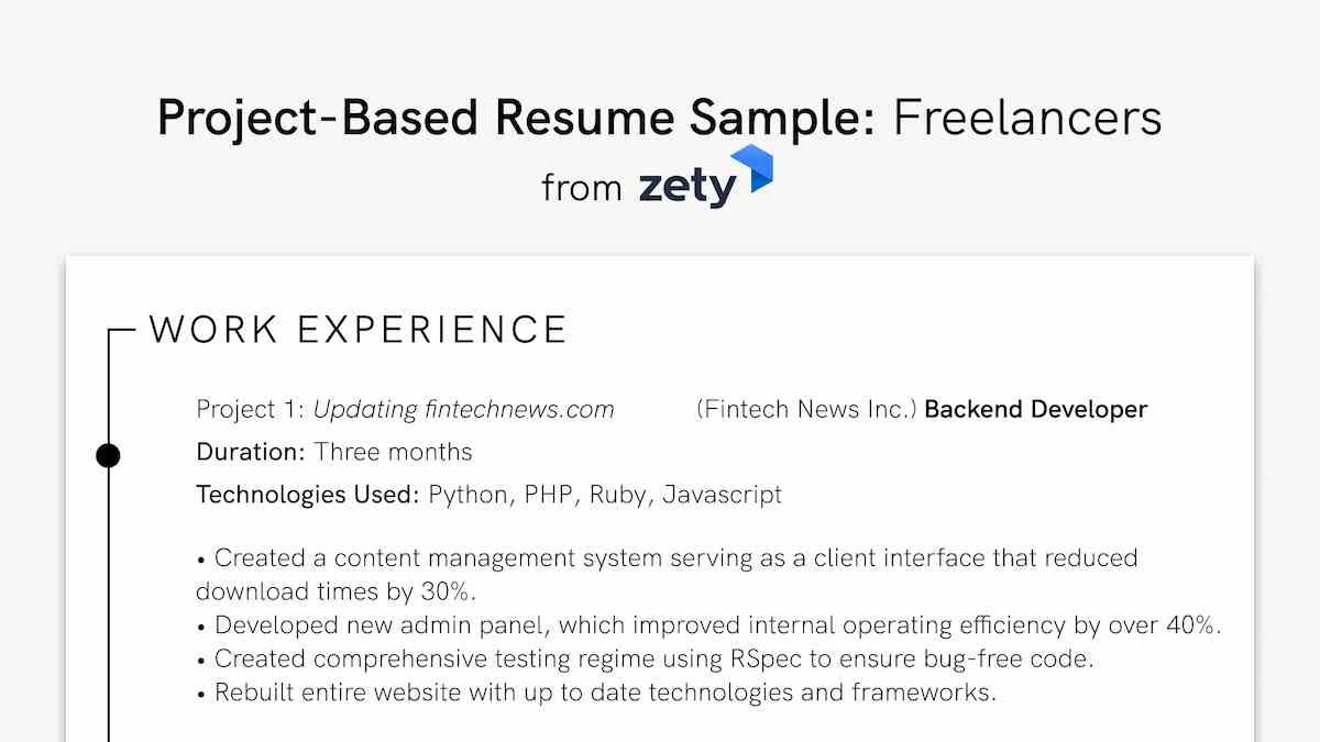 to projects on resume work personal academic should you include months project based Resume Should You Include Months On A Resume