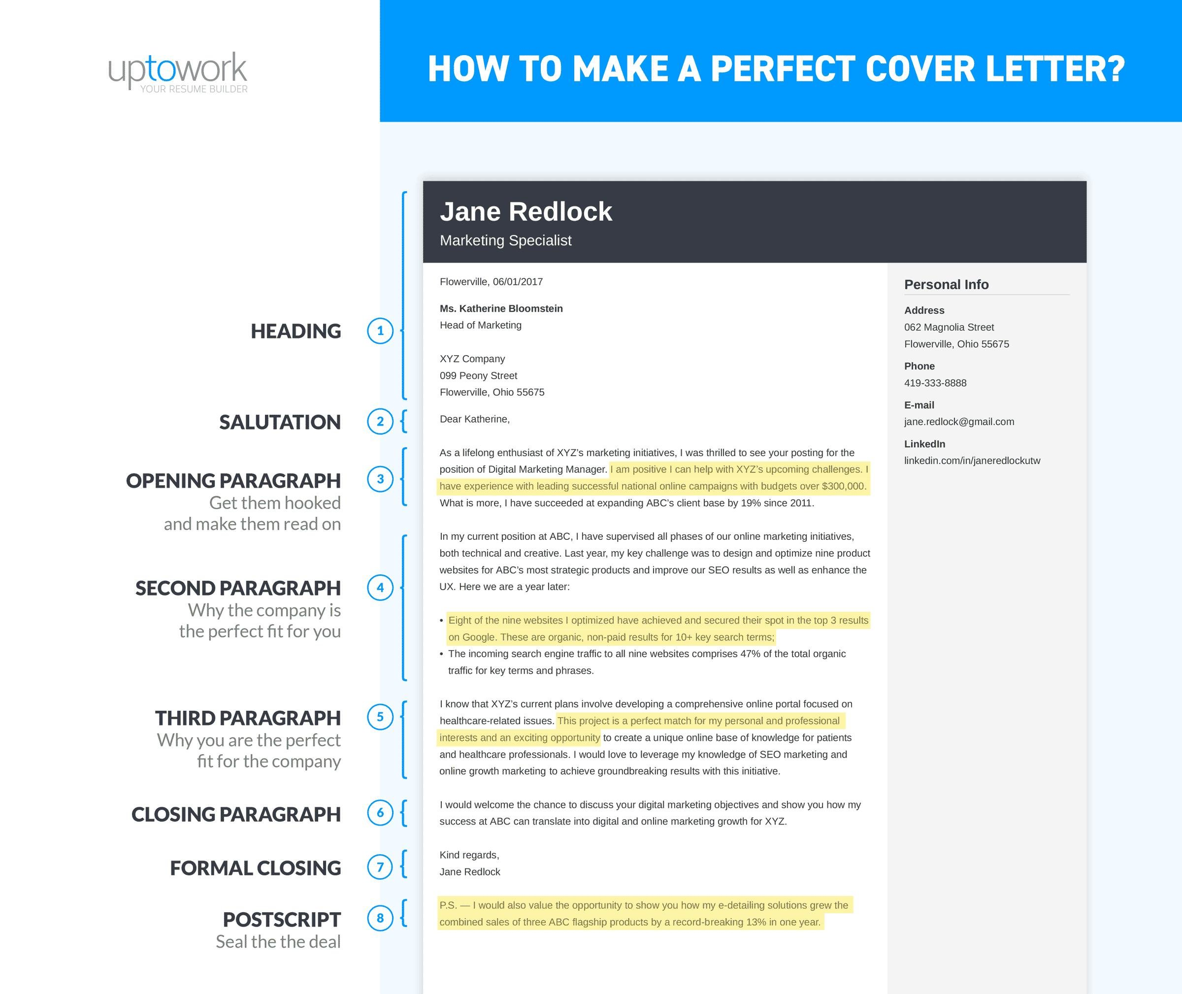 to write cover letter for job in examples create your resume make perfect objective plant Resume Create A Cover Letter For Your Resume Online