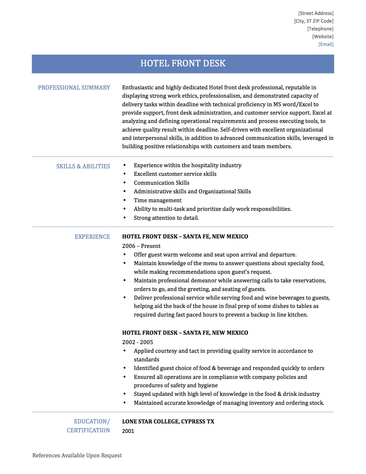 to write hotel front desk resume by builders medium j9lhxbqqzynkpynb oracle erp Resume Hotel Front Desk Resume