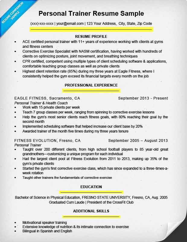 to write resume for all types of jobs companion present tense example lines cargill Resume Present Tense Resume Example