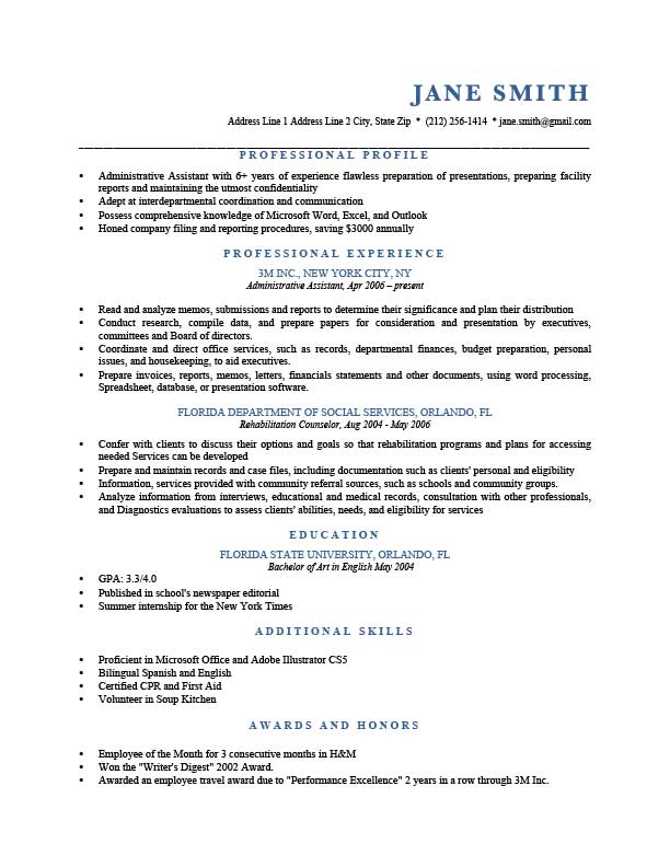to write resume profile examples writing guide rg good for blue template future Resume Good Profile For Resume Examples
