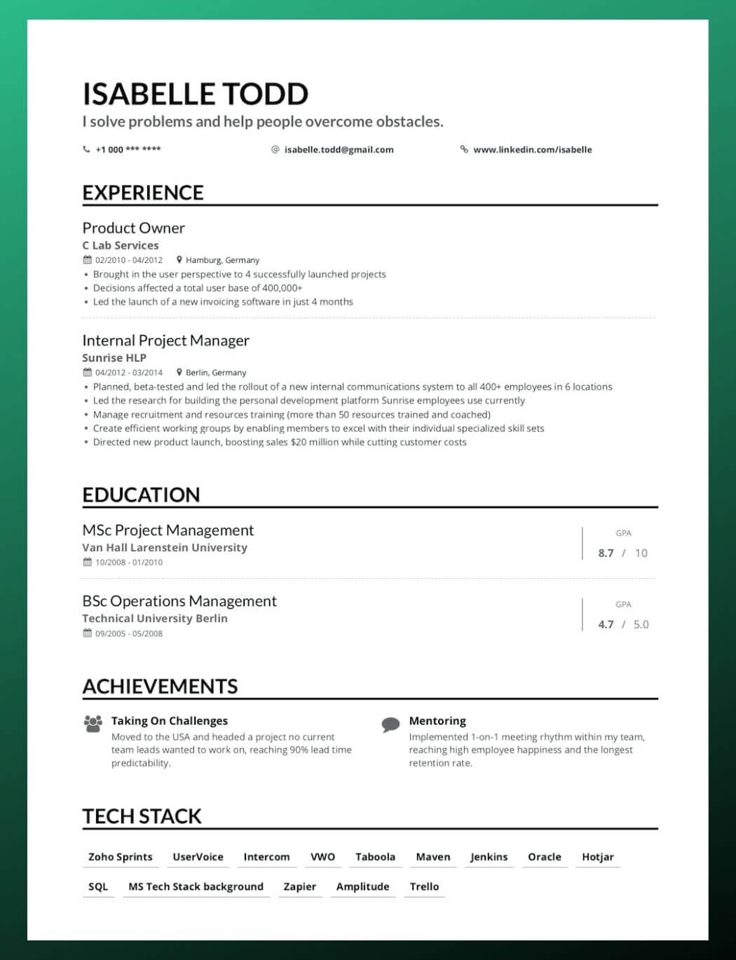 to write your first job resume for all types of jobs reverse chronological simple and Resume Resume For All Types Of Jobs