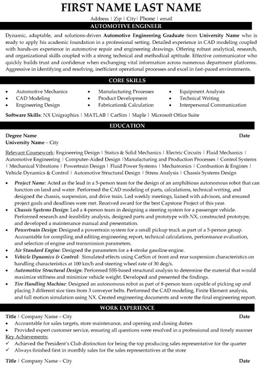 top automotive resume templates samples auto consultant engineer sample packaging Resume Auto Sales Consultant Resume