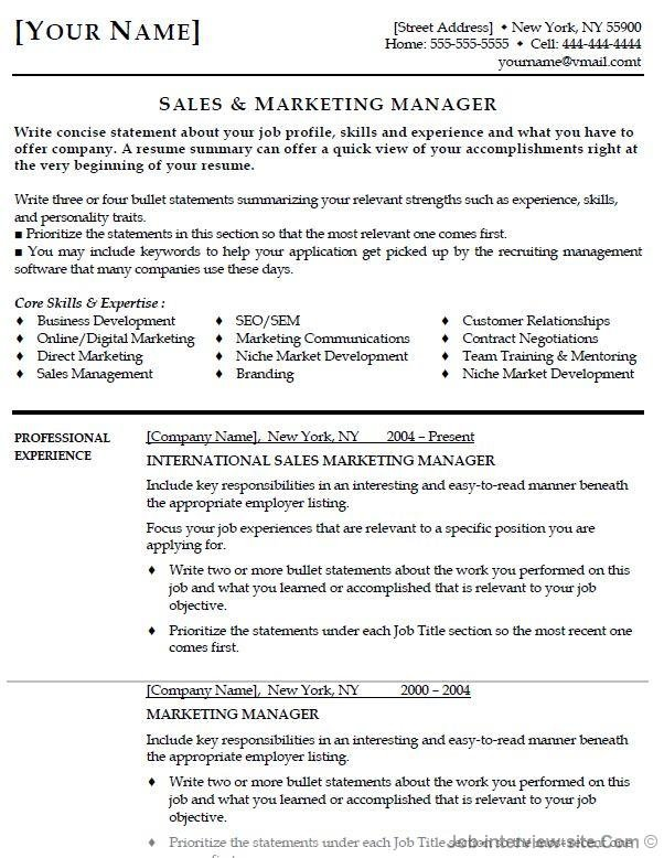 top best resume formats and examples format for job interview table environmental Resume Resume Format For Job Interview