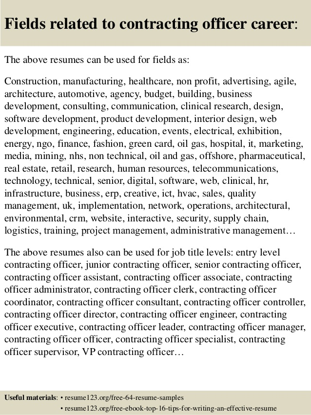 top contracting officer resume samples government gdpr writer chicago catering examples Resume Government Contracting Officer Resume