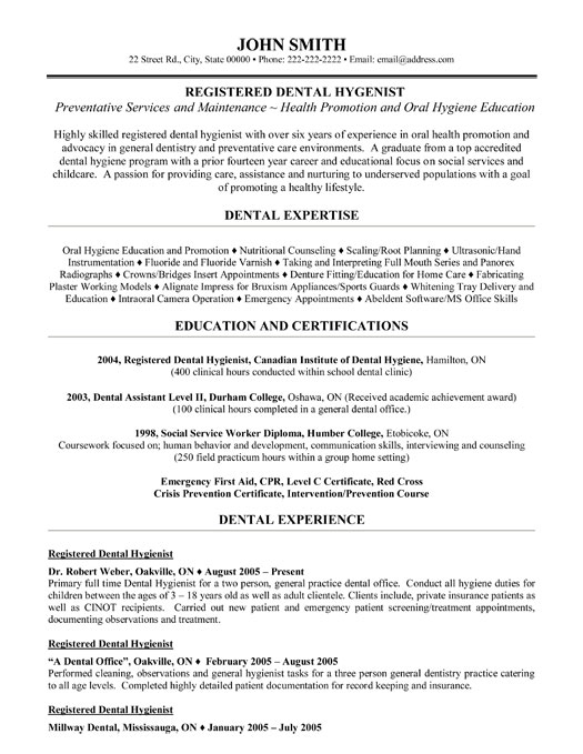 top dental resume templates samples school application examples professional registered Resume Dental School Application Resume Examples