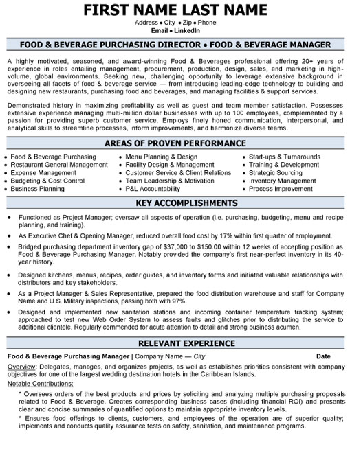top purchasing resume templates samples sourcing examples pc food beverage director Resume Sourcing Resume Examples