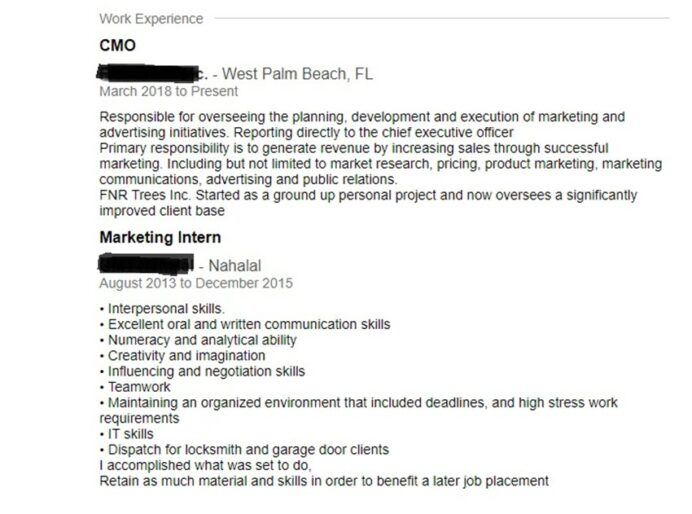 top resume mistakes with good vs examples an example of cmo title inflation immigration Resume An Example Of A Good Resume