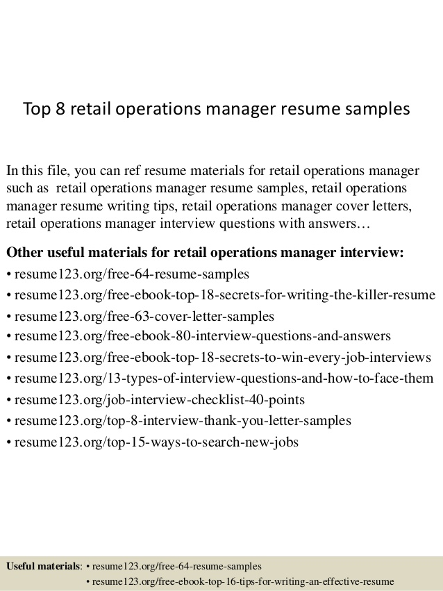 top retail operations manager resume samples sample electrical engineer fresh graduate Resume Operations Manager Resume Sample