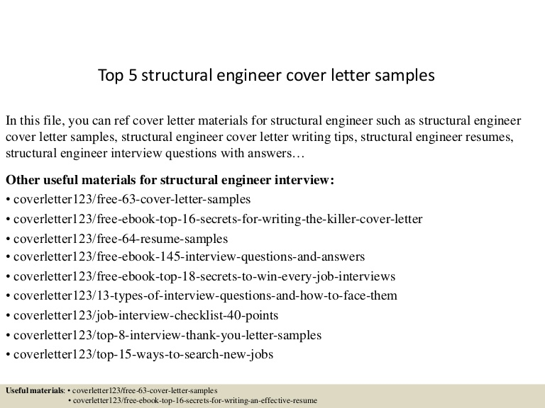 top structural engineer cover letter samples engineering resume sample Resume Structural Engineering Resume Sample