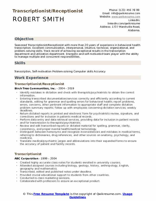 transcriptionist resume samples qwikresume legal pdf another word for extracurricular Resume Legal Transcriptionist Resume