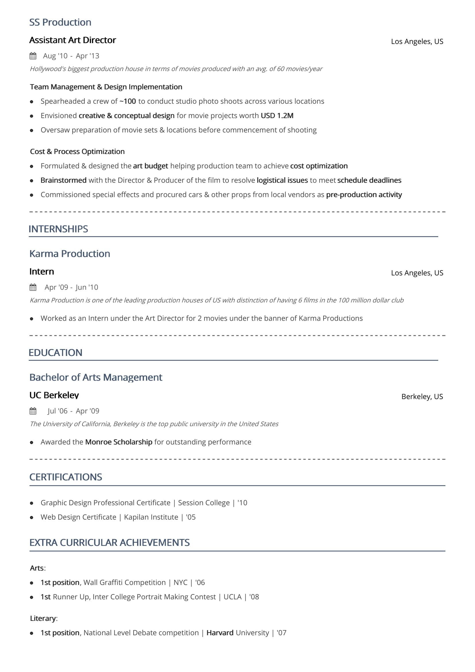 two resume format examples guide jeff stratus brand manager royal blue leaf restaurant Resume 2 Page Resume Format