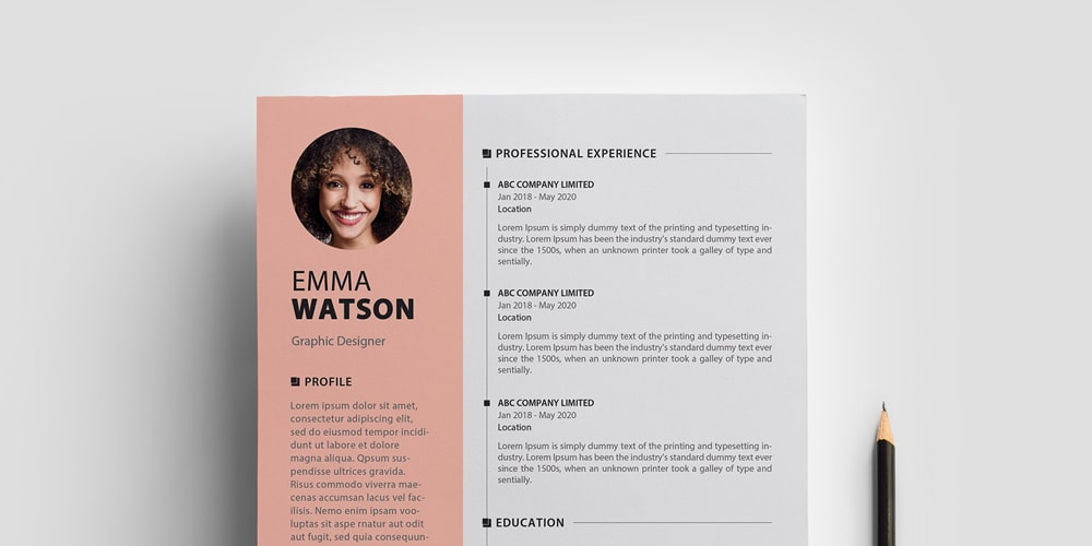 ultimate collection of free resume templates author for cv template animal science Resume Free Resume Templates For 2020