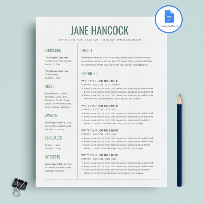 upgrade your resume with my google docs templates by joelvedo swiss template solar Resume Swiss Resume Template Google Docs