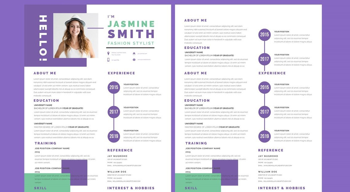 ux designer resume template guide free by ikhya official medium best graphic zx1nx Resume Best Graphic Designer Resume