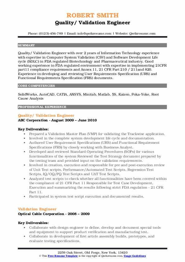 validation engineer resume samples qwikresume post silicon pdf good format for software Resume Post Silicon Validation Engineer Resume