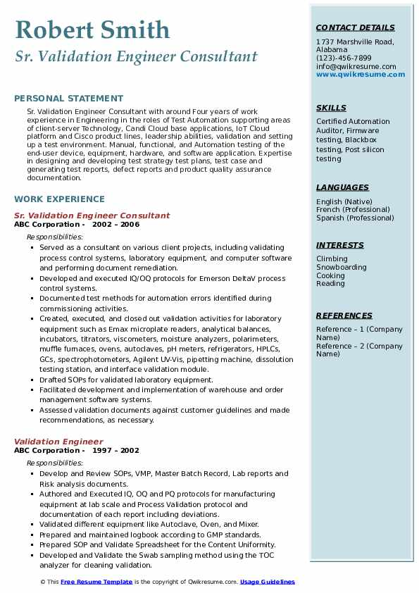 validation engineer resume samples qwikresume post silicon pdf help for high school Resume Post Silicon Validation Engineer Resume
