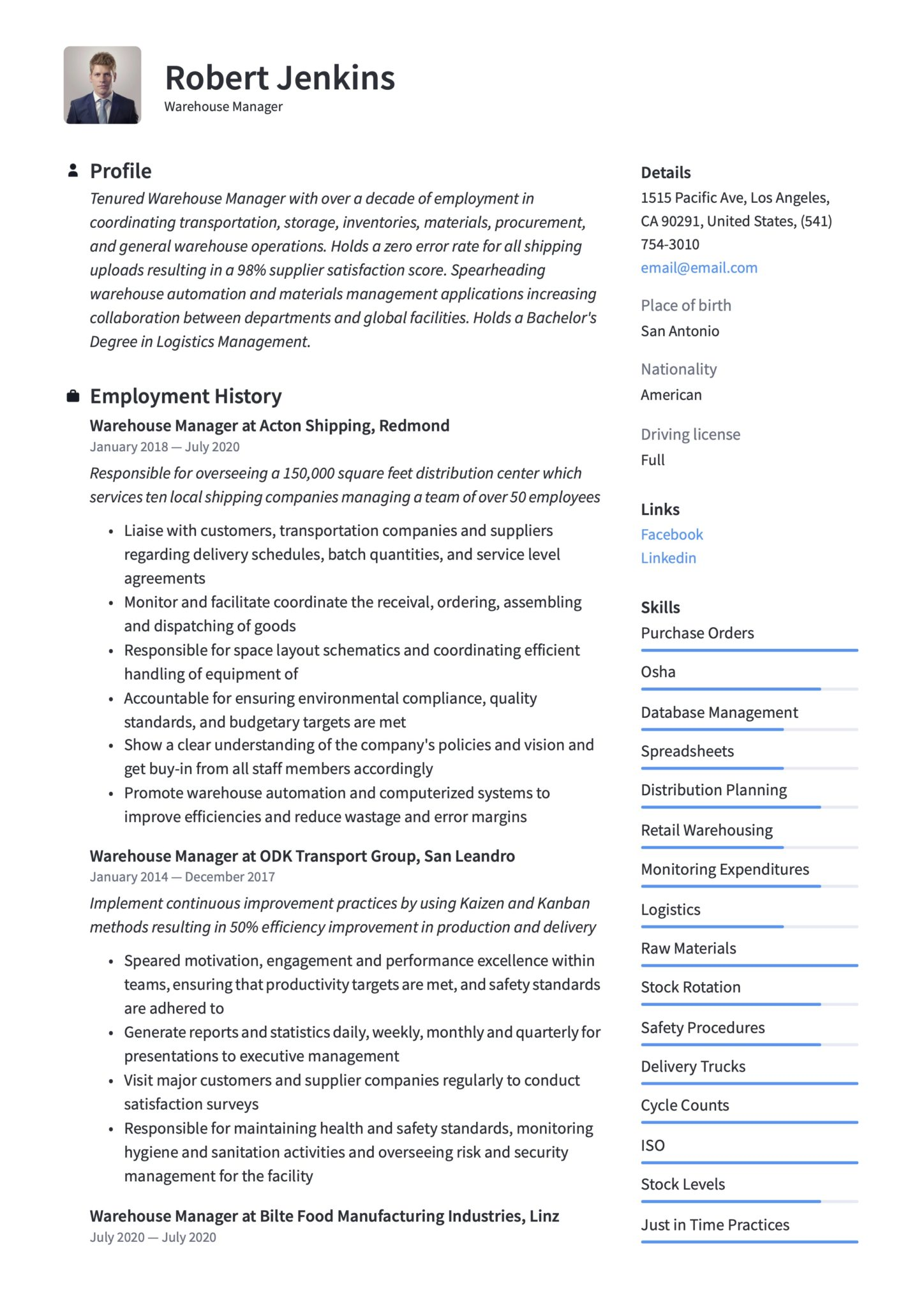 warehouse manager resume writing guide templates materials scaled creative event planner Resume Materials Manager Resume