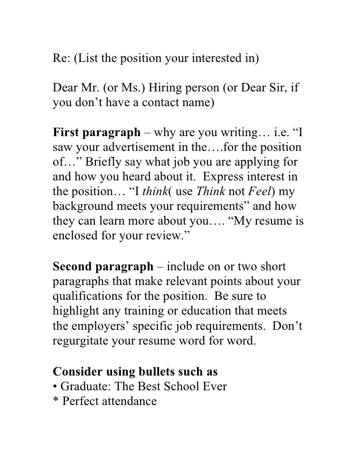 winning blueprint to the perfect resume cover letter general maintenance examples music Resume Perfect Resume Cover Letter