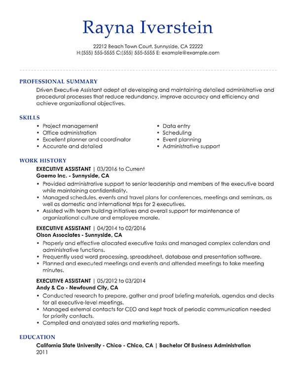 with professional summary samples resume format for customer care representative job Resume Professional Summary For Resume